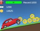 車をアップグレードしていくカーゲーム 2D ヒルレーシング