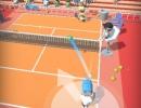 マウスのみで遊ぶシンプルテニスゲーム トロピカル テニス