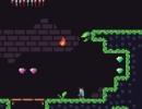 ジェムをゲットして洞窟を進むアクションゲーム カースド ジェム