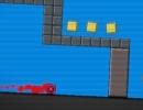 ブロックを操作して壁を破壊して進んでいくゲーム ウォール クリップ