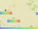 キャラの色を変えてカギをゲットしていくアクションパズルゲーム クロム
