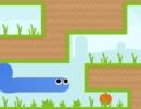 壁を伝って進むヘビのアクションパズルゲーム グラビティ スネーク