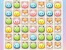 可愛い動物を消していくマッチ3パズルゲーム ジュエル ペット マッチ