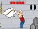 脱出ゲーム Old Man Walking Stick Escape