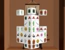 同じ種類の牌を取っていく3D上海パズルゲーム マージャン ワールド