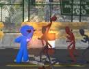 棒人間の敵を倒していくアクションゲーム スティックマンファイター 3D