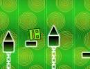 高難易度ジャンプアクションゲーム ジオメトリー ネオン ダッシュ クレイジー
