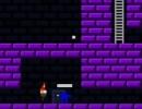ゴールを目指して進むレトロ風のアクションゲーム プラズマ フィスト