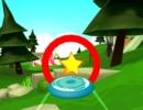 フリスビーを投げて輪っかに通していくゲーム フリスビー フォーエバー 2