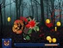 カボチャの人形を叩いてコインを集めていくゲーム パンプキン モンスター