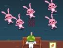 ウサギのゾンビを倒していく防衛アクションゲーム ラビット ゾンビ ディフェンス