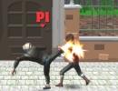 敵を倒して進む3D横スクロールアクションゲーム ダブルストリート ファイト