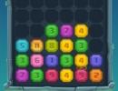 同じ数字のブロックを重ねていくパズルゲーム マージ ザ ジェム