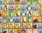 可愛い動物の二角取り(四川省)パズルゲーム アニマル コネクション