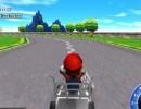 3D風のマリオレースゲーム マリオカート