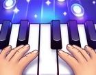 降って来るタイルをキーボードで叩くリズムゲーム ピアノ オンライン