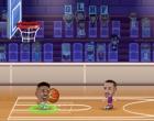 1on1か2on2で戦うシンプルなバスケゲーム バスケットボール スターズ 2D