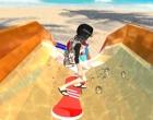ウォータースライダーを滑っていくゲーム ウォータースライド 3D