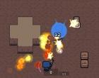アイテムを拾って敵と戦うガンアクションゲーム ヘルメット ロワイヤル