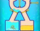 ピンを抜いて魚に水を送るパズルゲーム フィッシュダム オンライン