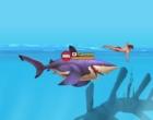 魚などを食べてサメを成長させるアクションゲーム ハングリー シャーク アリーナ