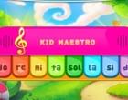 クリックで弾くピアノゲーム キッド マエストロ
